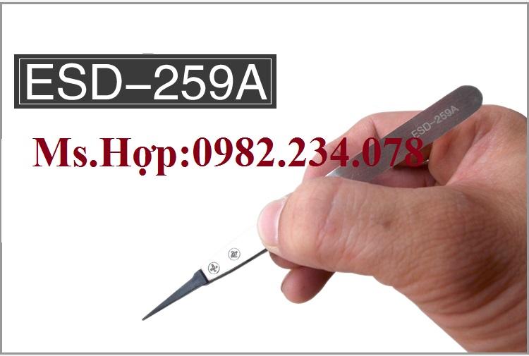 Bán Buôn / Nhíp chống tĩnh điện Vetus ESD -259A