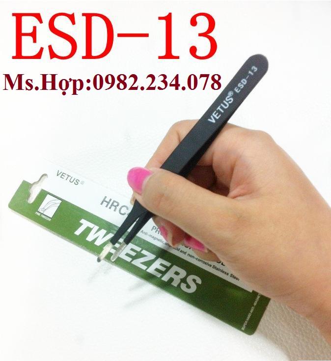 Bán Buôn / Nhíp chống tĩnh điện Vetus ESD- 13