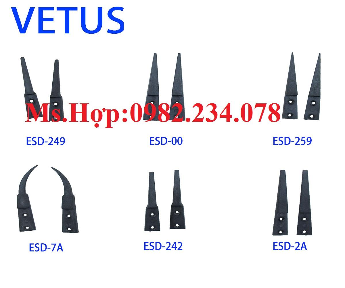 Đầu nhíp tĩnh điện thay thế ESD-242/ESD-249/ESD-259/ESD-7A