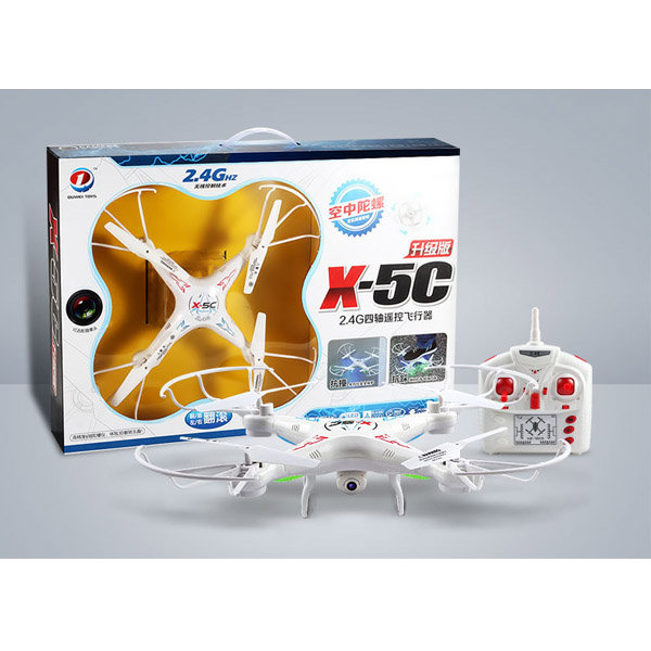 Trọn bộ Máy bay camera Flycam giá rẻ X5C
