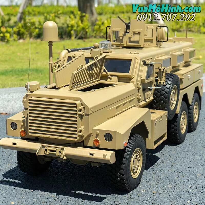 Mô hình xe tải quân sự điều khiển từ xa RC sống động như thật