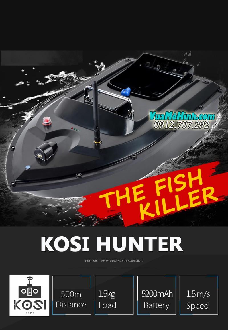 tàu thả thính Kosi Hunter