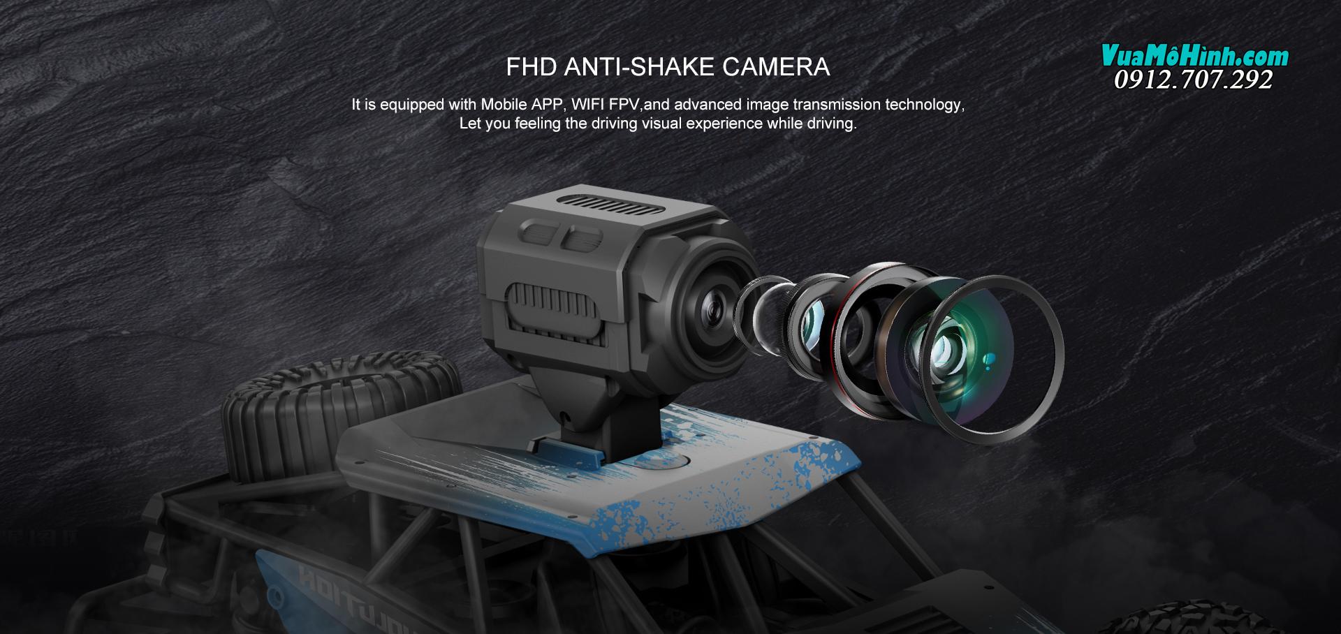 xe điều khiển từ xa gắn camera có khác gì xe thường