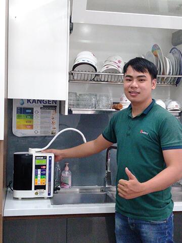 máy điện giải Kangen LeveLuk SD501 điện máy klp