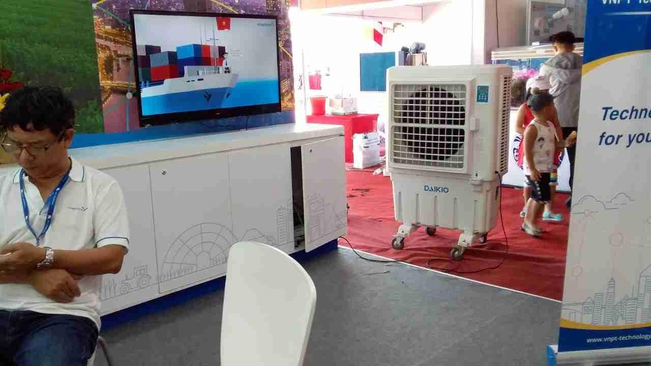 Cho thuê máy làm mát Daikio DK-5000A, Giới thiệu các tính năng làm mát của máy