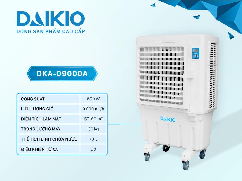 Cho thuê máy làm mát DK-9000A, giới thiệu tính năng làm mát của máy