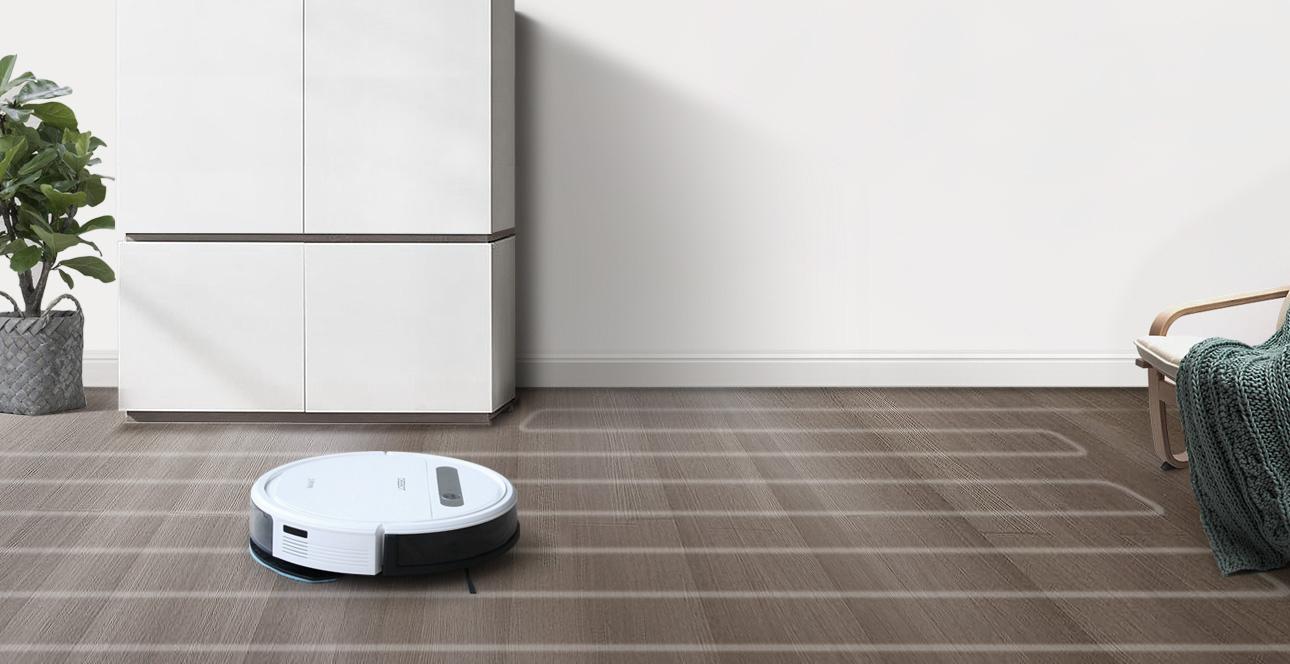 Kết quả hình ảnh cho Robot hút bụi lau nhà Ecovacs dd35 ( OZMO 610) chạy zic zac model