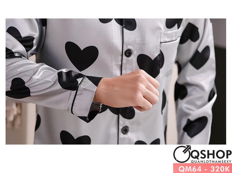 [Sale tại web] Bộ pijama nam cao cấp QM64