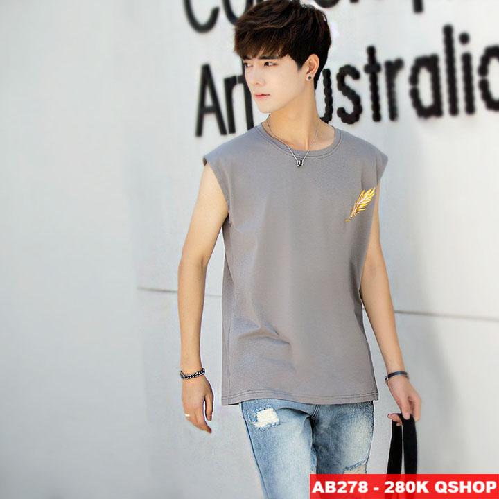 [Sale tại web] Áo 3 lỗ thời trang cao cấp AB278