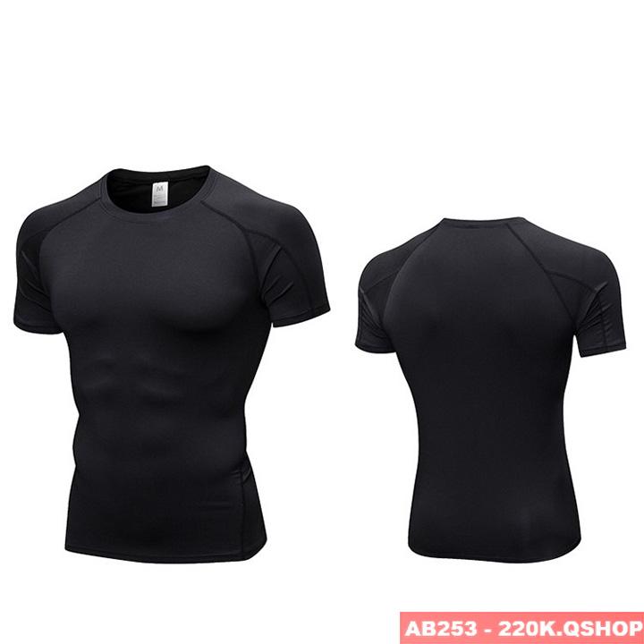 Áo phông tập gym ôm sát body AB253