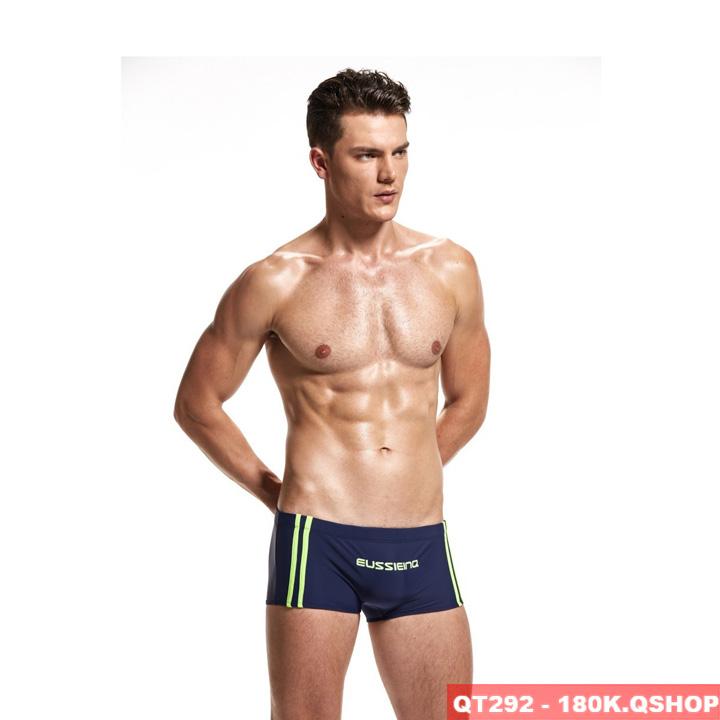 Quần bơi boxer nam đơn giản năng động QT292