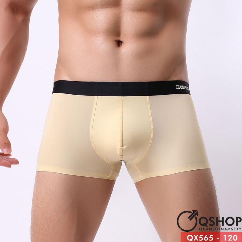 [Sale tại web] Quần boxer su lụa cao cấp QX565