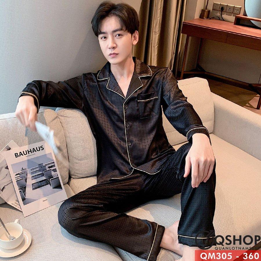 Bộ đồ pijama lụa gấm QM305