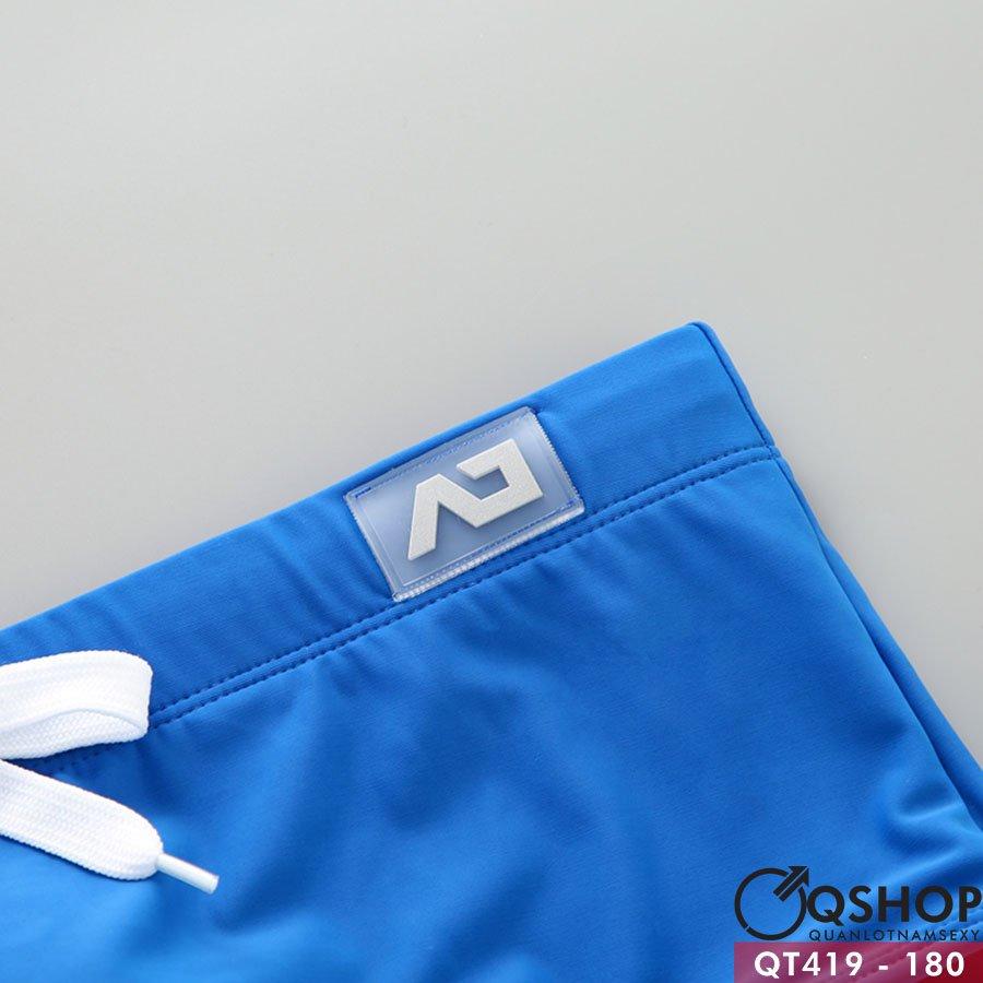 Quần bơi boxer nam màu trơn QT419