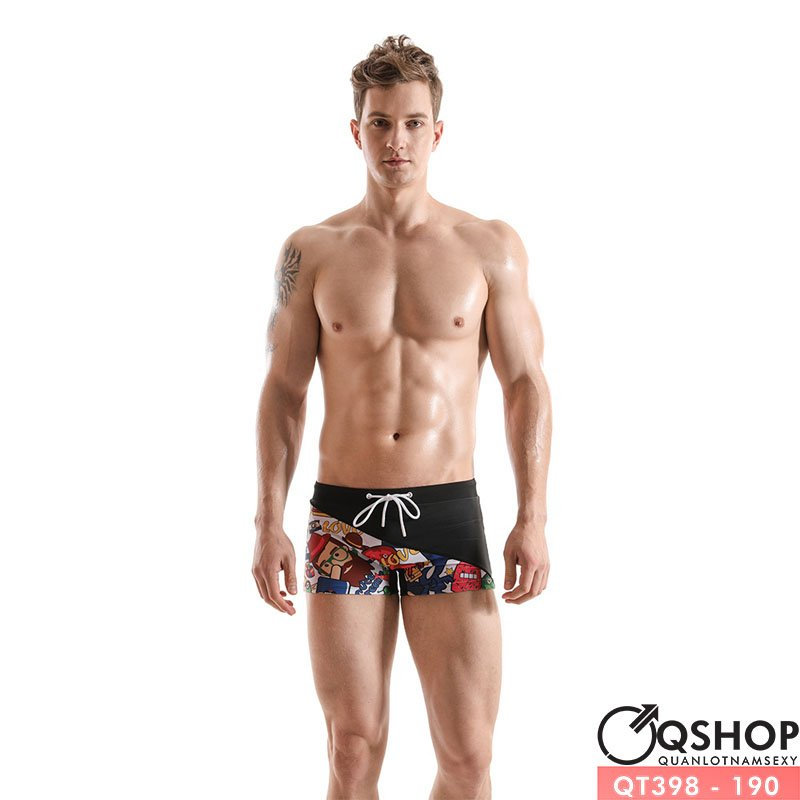 Quần bơi boxer nam QT398