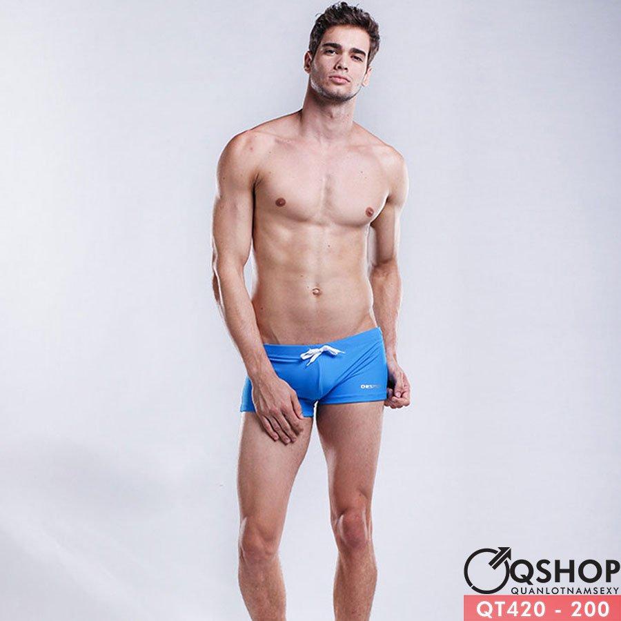 Quần bơi boxer nam cao cấp QT420