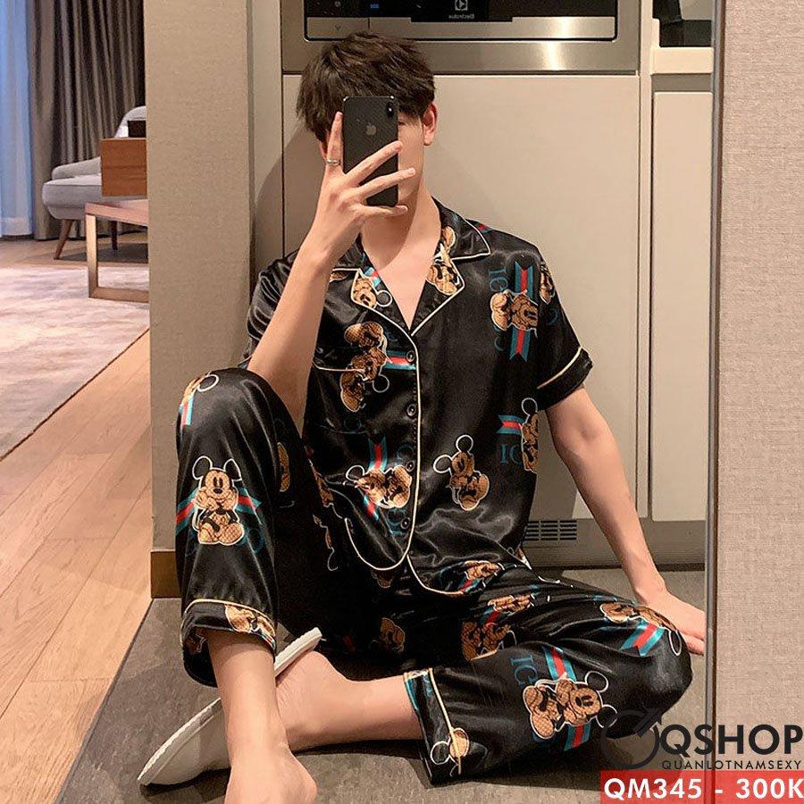 Bộ đồ pijama nam cao cấp QM345