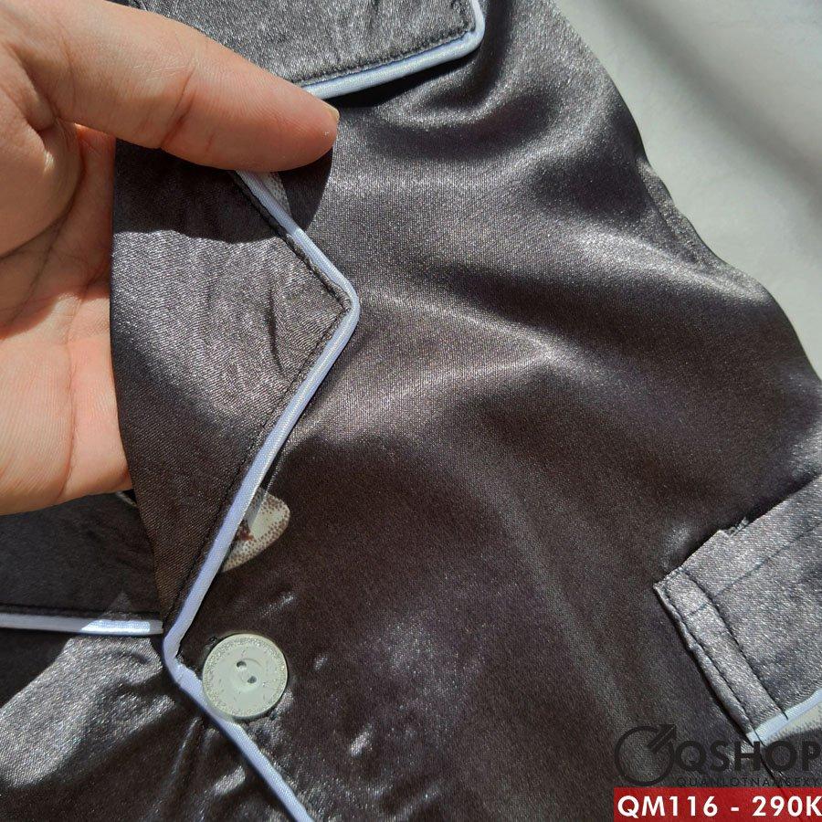 Bộ đồ pijama nam quần ngắn, tay ngắn QM116