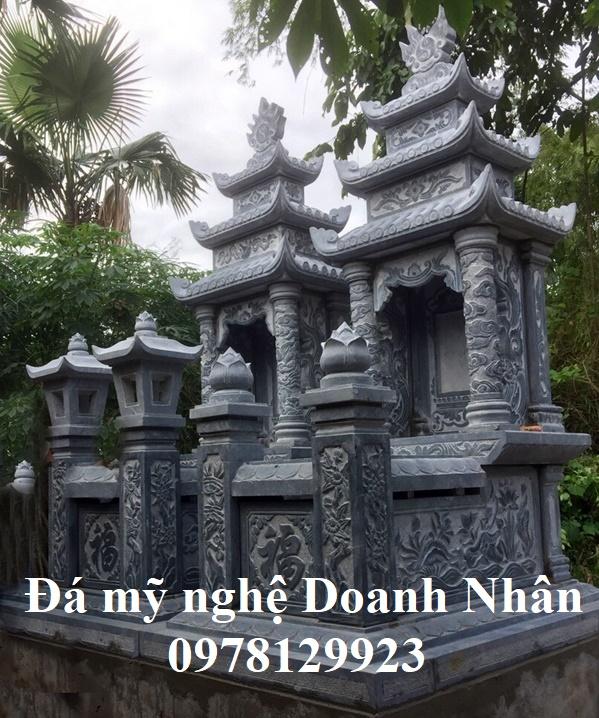 Mộ đá đẹp tại Tuyên Quang