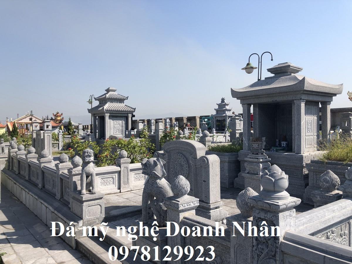 Khu lăng mộ cao cấp bạc tỷ tại nghĩa trang Đèo Sen Hạ Long