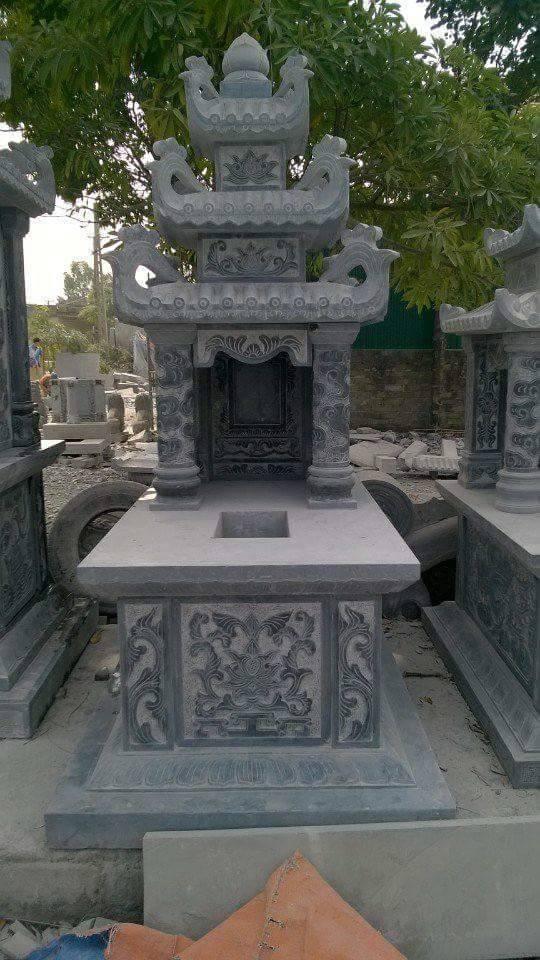 mộ đá 3 mái 001