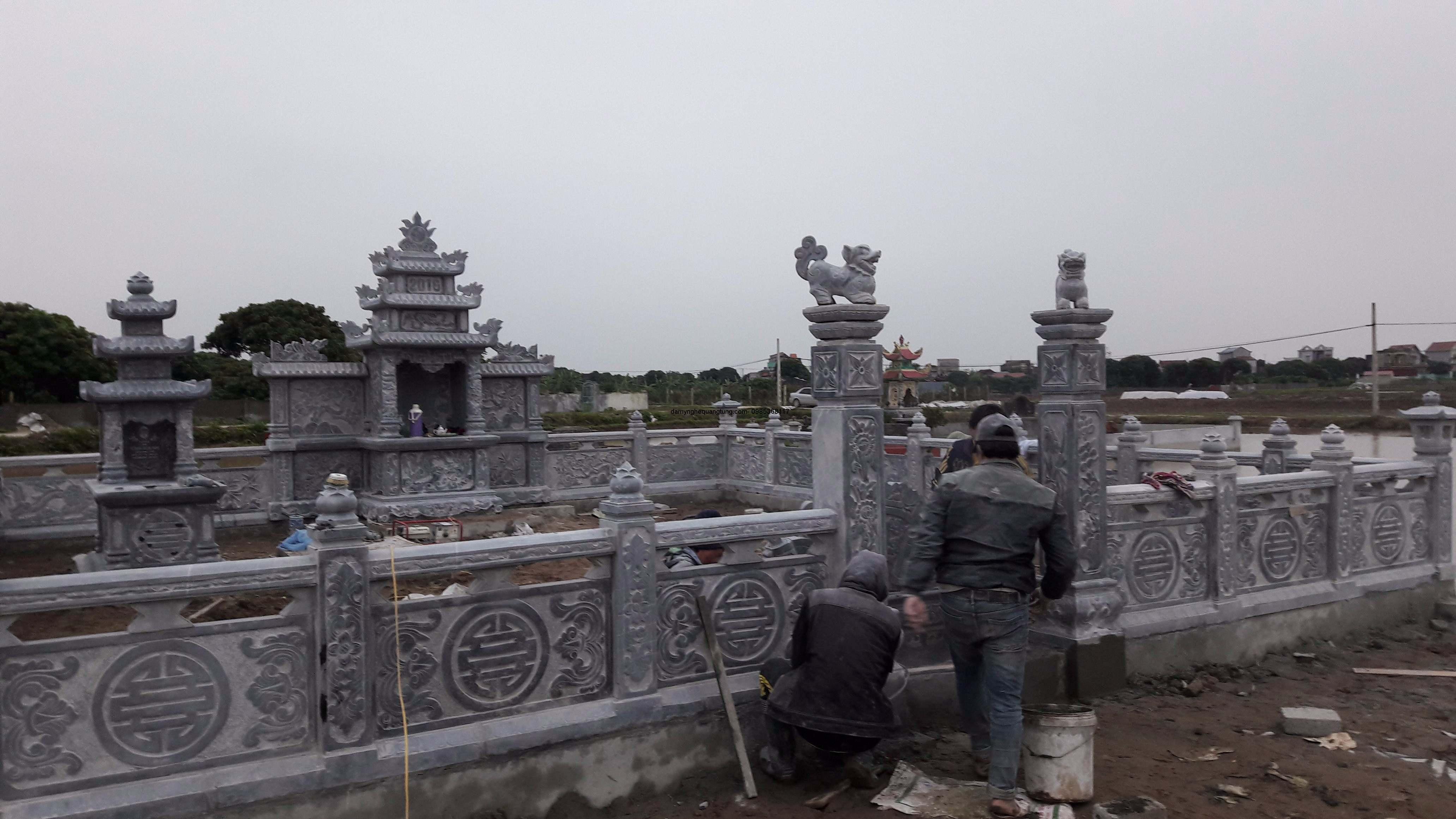 Khu lăng mộ đẹp 01