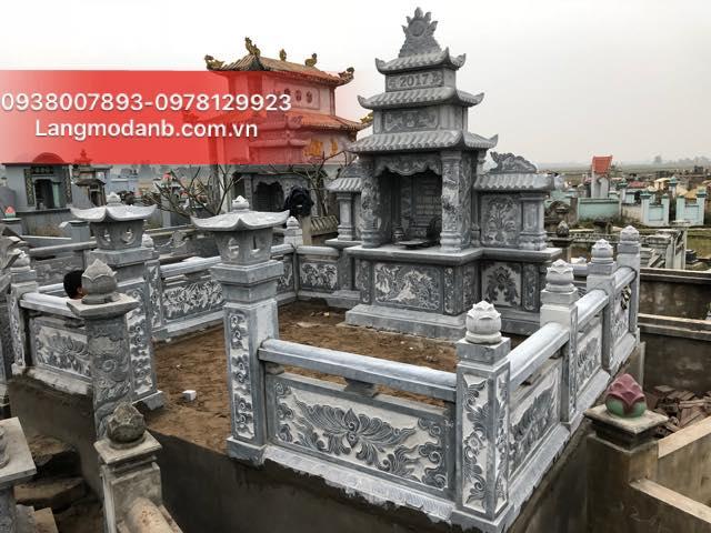 Thi công khu Lăng Mộ Đá Gia Tộc Họ Vũ Tại Nam Định