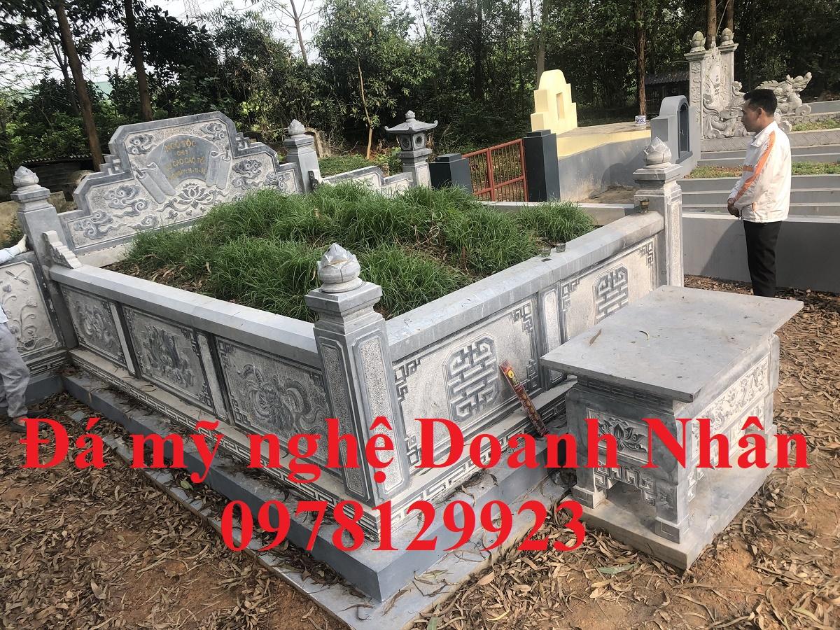 Mẫu mộ quây thi công tại Chương Mỹ - Hà Nội