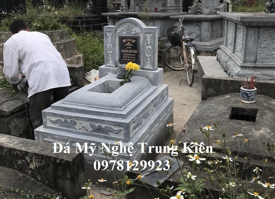 Mộ đá đẹp tại Bắc Giang