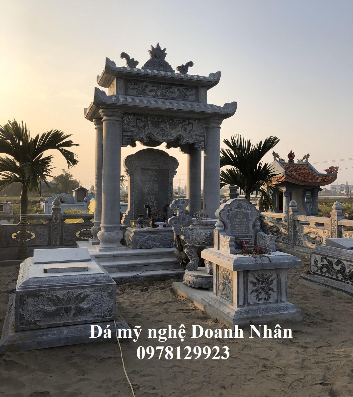 Khu nghĩa trang gia đình anh Tú tại Trình Xuyên Nam Định