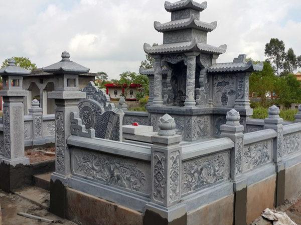 10 Khu lăng mộ có diện tích nhỏ