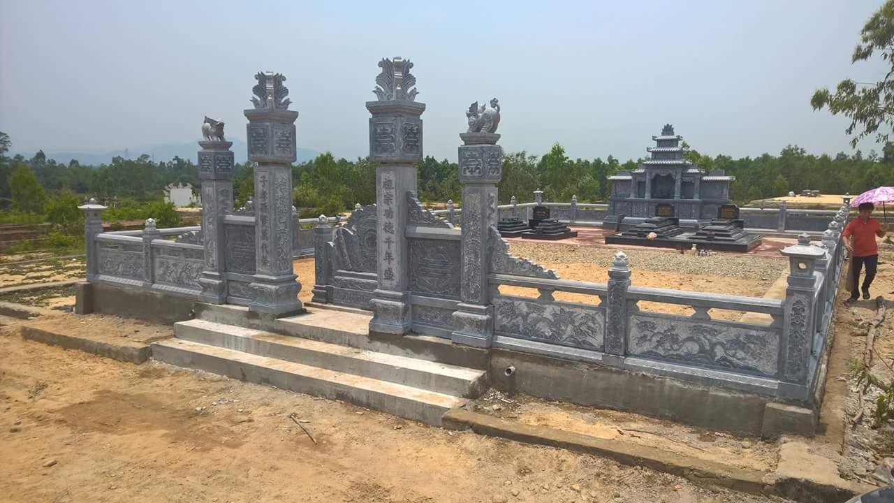 Khu lăng mộ đẹp