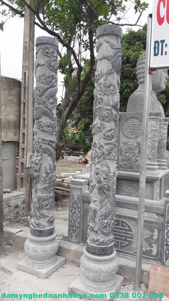 Cổng đá lăng mộ CĐ06