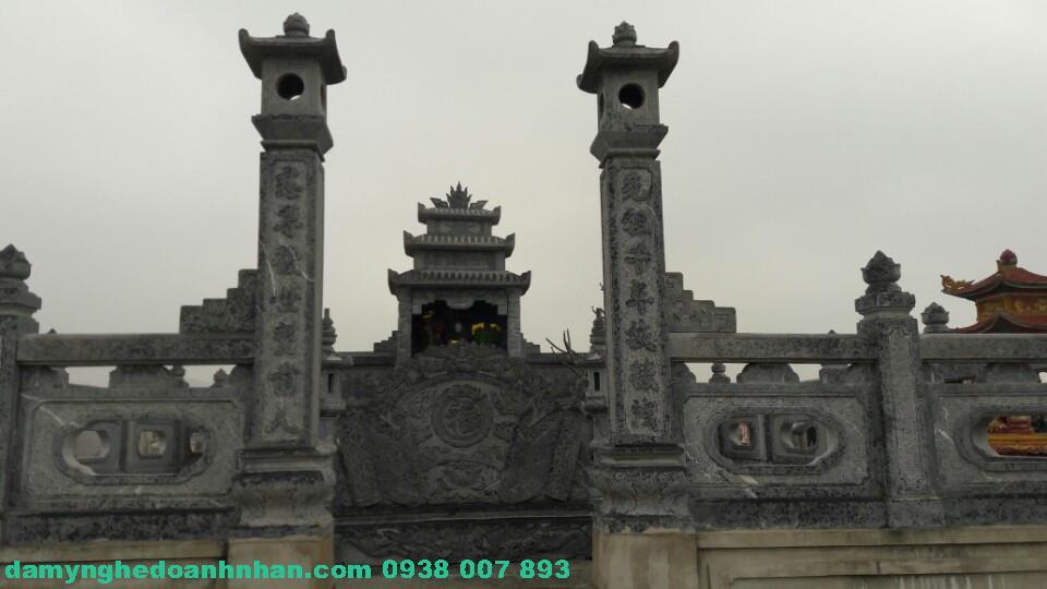 Cổng đá lăng mộ CĐ 09