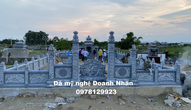 Khu lăng mộ gia đình anh Tá giám đốc công ty xây dựng Hà Tĩnh
