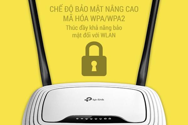 Tp-Link WR841N sử dụng mã hóa WPA/WPA2