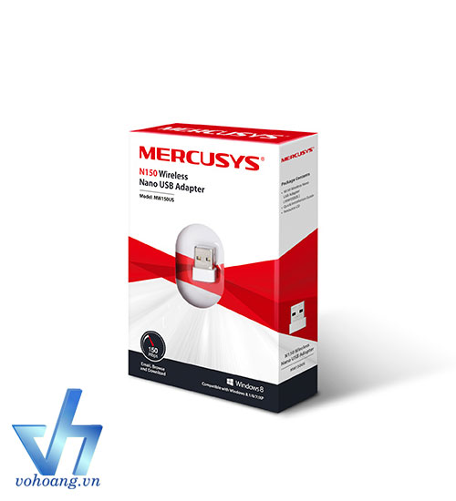 Mercusys MW150US - USB thu WiFi nano