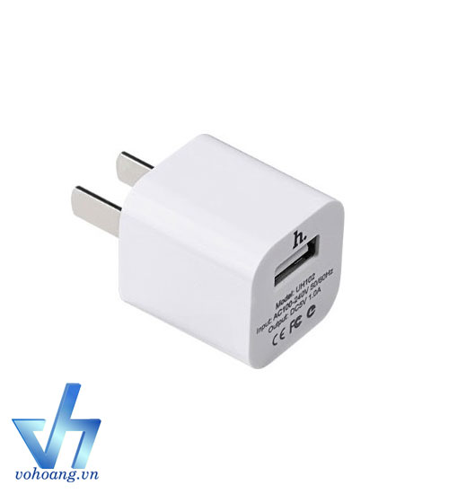 Adapter sạc ra USB HOCO UH102