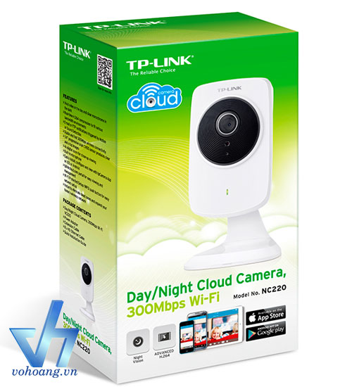 TP-LINK NC220 - Camera IP Cloud 300Mbps