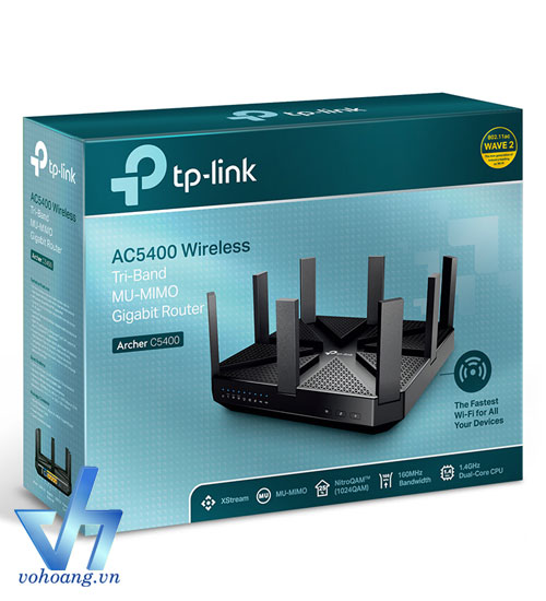 TP-LINK Archer C5400 - AC5400 Wireless Tri-Band MU-MIMO