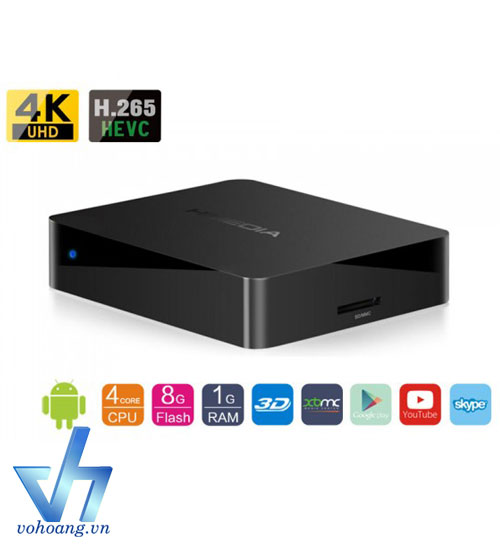 Himedia Q1 IV - Android TV box