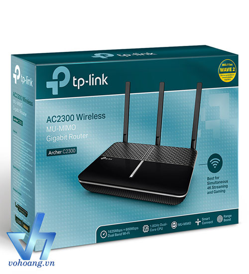 TP-LINK Archer C2300 - Router WiFi MU-MIMO Gigabit with Beamforming