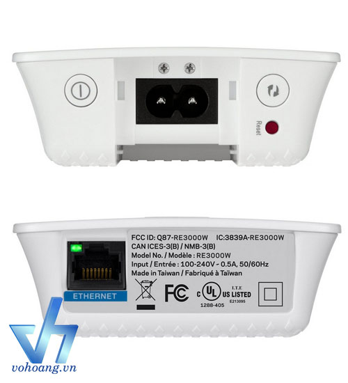 LINKSYS RE3000W - N300 Wifi Repeater