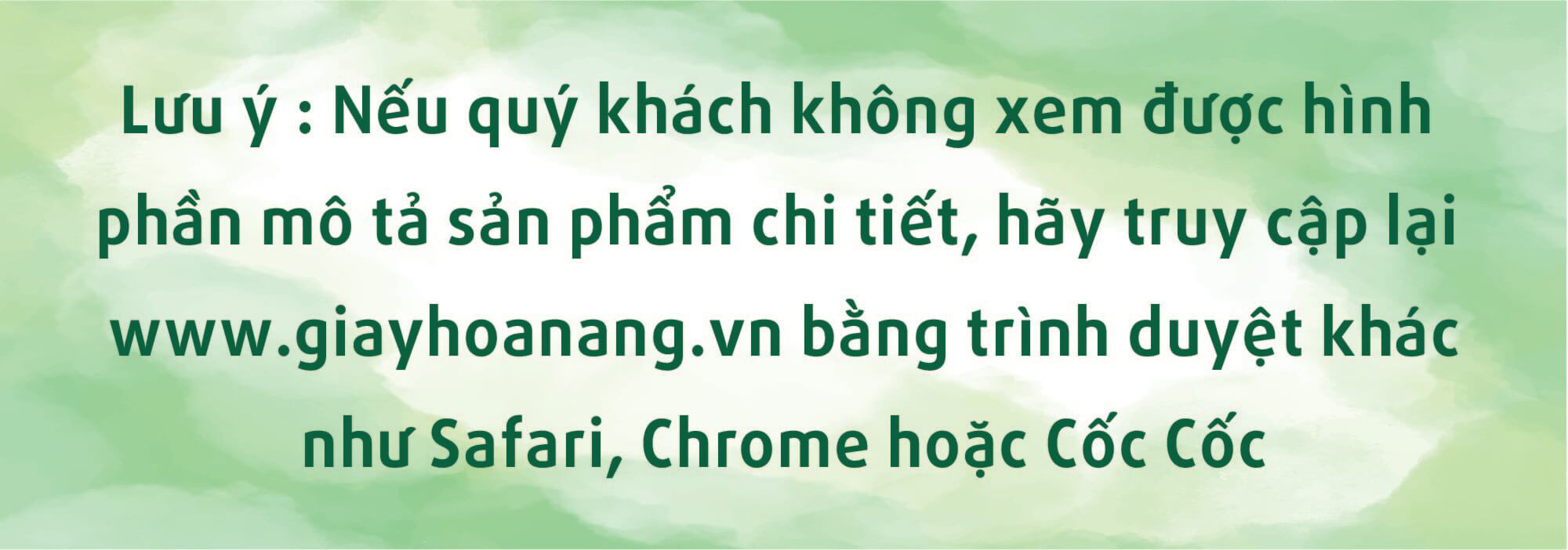 Chính Sách Order Mới