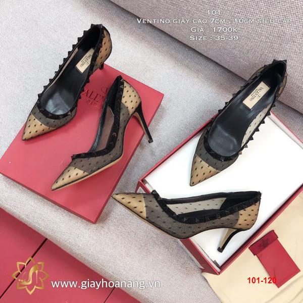 101-120 Ventino giày cao 7cm , 10cm siêu cấp