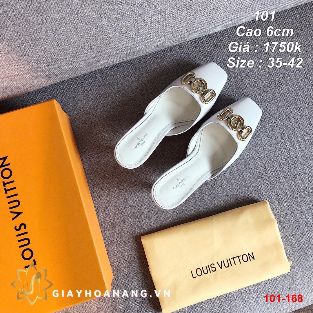 101-168 Louis Vuitton dép sục cao 6cm siêu cấp
