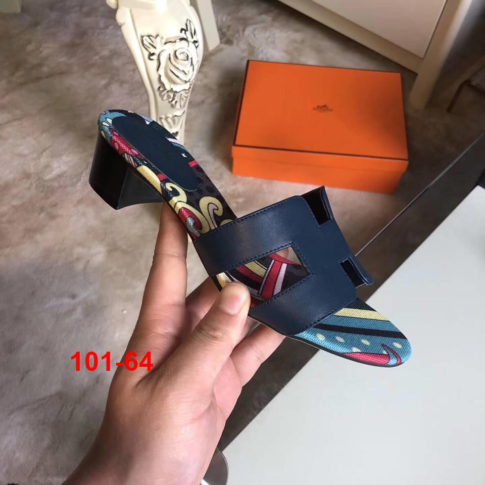 101-64 Hermes dép cao 4cm super