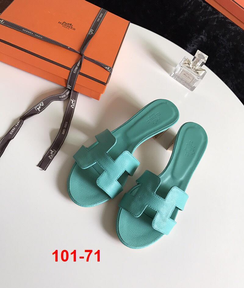 101-71 Hermes dép cao 4cm super