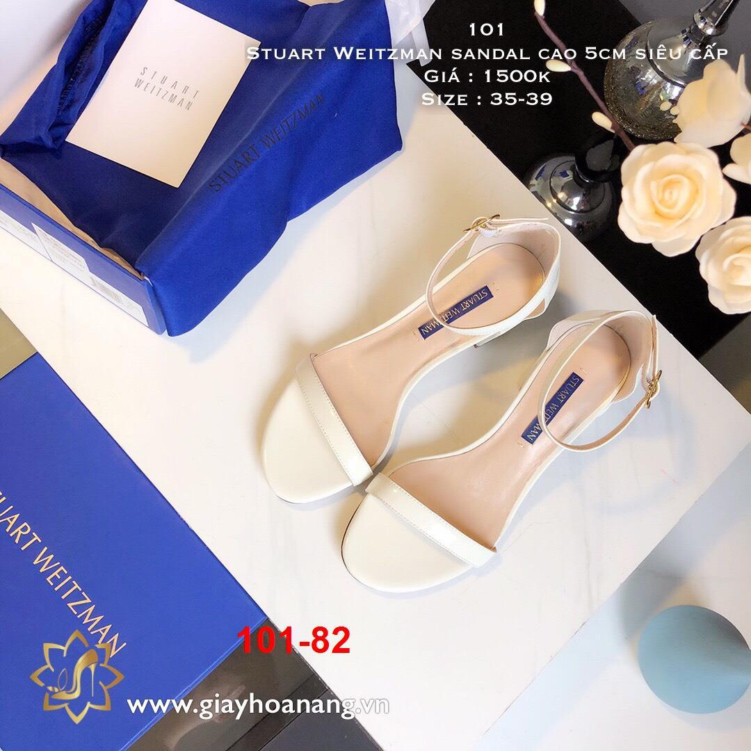 101-82 Stuart Weitzman sandal cao 5cm siêu cấp