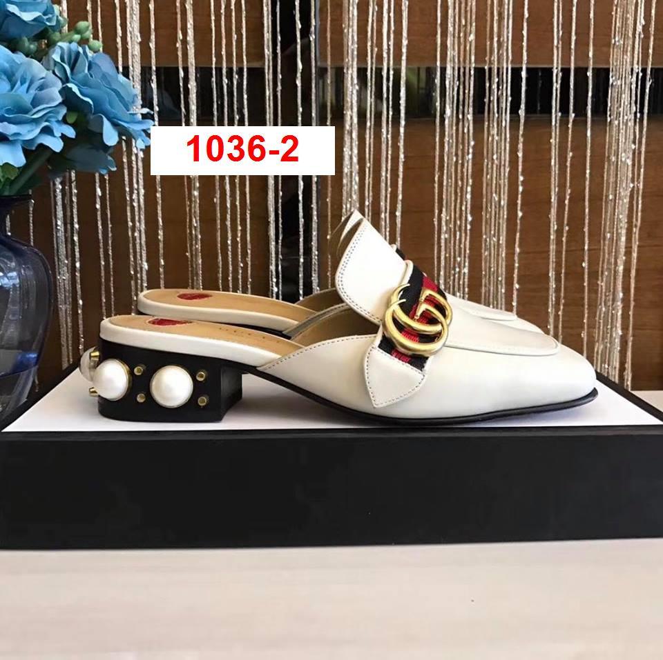 1036-2 Gucci dép cao 8cm, 3cm siêu cấp